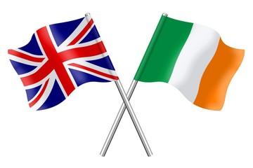 Flags: United Kingdom and Ireland