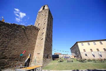 castiglion fiorentino borgo medioevale toscana
