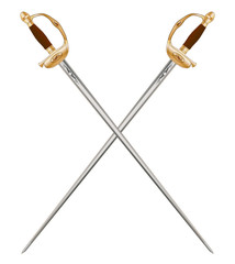 Crossed Infantry Swords