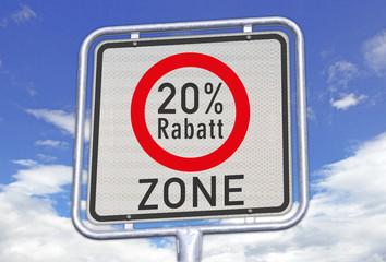 Zone 20% Rabatt