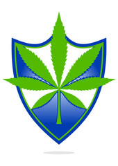 Logo protection cannabis