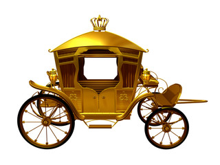 golden Coach side view