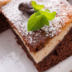 Chocolate cheese cake