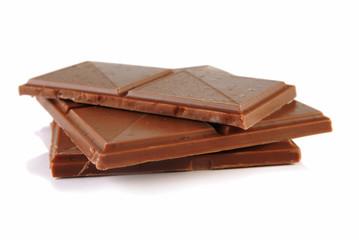 Chocolate with caramel and sea salt