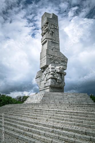 Westerplatte Monument in memory of the Polish defenders - 65410751