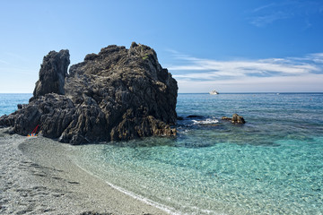 cinque terre beach landscape