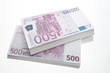 500 Euro-Banknoten, close up