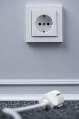 Elektrischer Stecker und Steckdose