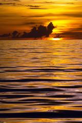 Philippinen, Sonnenuntergang am Meer