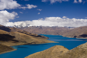 Yamdrok High Pass - Turquoise Lake - Tibet