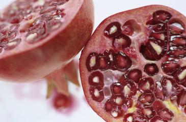 Granatapfel, Querschnitt