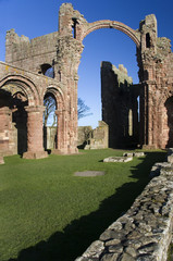 Lindisfarne Priory - Holy Island - England