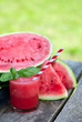 Water melon smoothie
