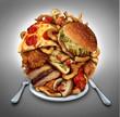 Fast Food Diet - 65413545