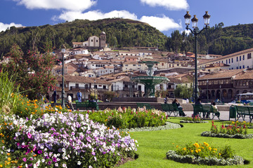 Plaza de Armas - Cuzco - Peru