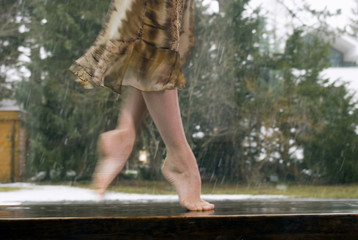 Ballerina tanzt