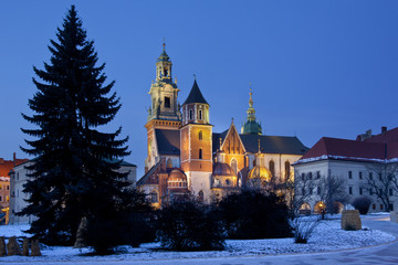 Cracow - Royal Cathedral - Wawel Hill - Poland