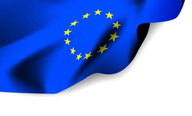 European Union waving flag