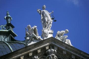 Palast der Gerechtigkeit, Justizia, Bayern, München