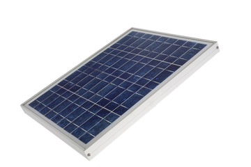 Solarzelle close-up