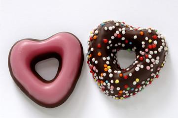 Heart-shaped Gebäck