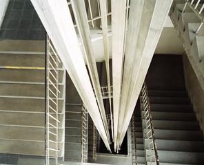 Aufzugskonstruktion, Seile, Aufzug