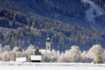 Österreich, Salzburger Land, Altenmarkt, Dorfkirche