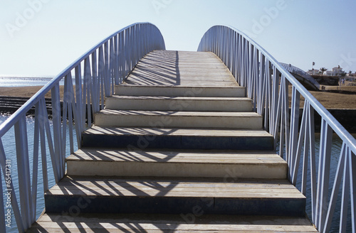 Ägypten, El Gouna, Blick auf Brücke