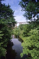 Goetzschtalbrücke, Brücke, Greiz, Thüringen, Deutschland