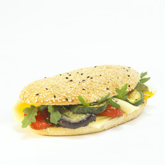 Gemüsesandwich