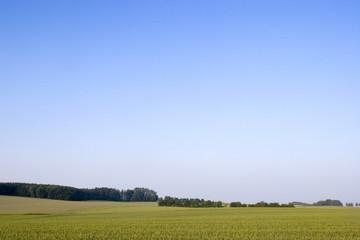 Felder in Bayern, Deutschland
