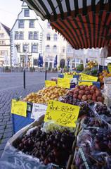 Erfurt, Domplatz Markt, Thüringen, Deutschland