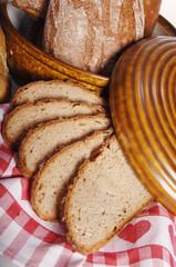 Verschiedene Arten von Brot