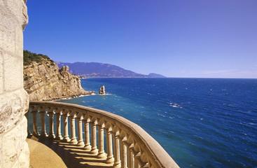 """Blick aus dem """"Schwalbennest"""", Yalta, Ukraine"""