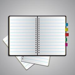 notebook bookmark
