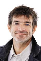 Porträt eines Mann lächeln