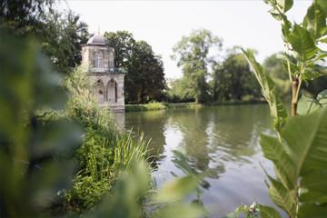 Deutschland, Potsdam, Heilger See mit Lustschloss
