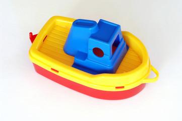 Kunststoff-Boot, Studioaufnahme
