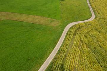 Deutschland, Feld, Luftbild