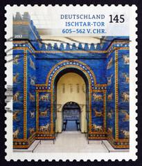 Postage stamp Germany 2013 Ishtar Gate, Babylon