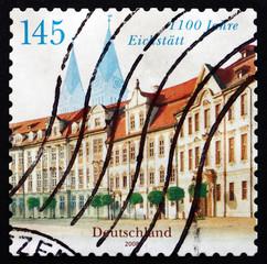 Postage stamp Germany 2008 Residence Square, Eichstatt