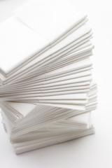 Papiertaschentücher, Gewebe