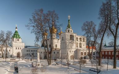 Город Кострома Свято-Троицкий Ипатьевский монастырь