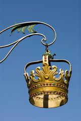 Deutschland, Lindau, Kronengasse, golden Zunftzeichen