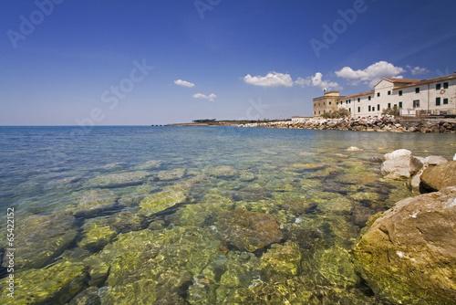 Italien, Hafenstadt Cecina, Adria