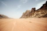 Desert landscape - Wadi Rum, Jordan - 65422325