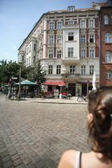 Deutschland, Berlin, Prenzlauer Berg, Straßencafé