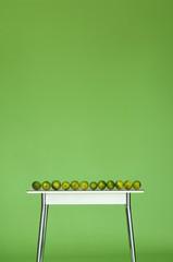 Limetten auf dem Tisch