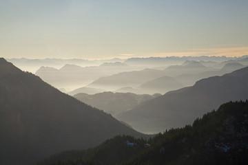 Deutschland, Bayern, Chiemgauer Alpen, Berglandschaft