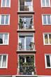 Deutschland, Bayern, München, traditionelle Balkone
